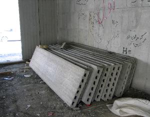 دیوار پانلی پیش ساخته بتنی سبک غیر باربر اکوتک